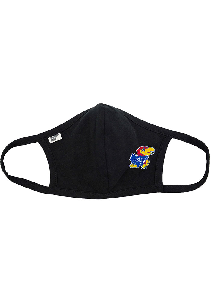 Kansas Jayhawks TC Fan Mask - Black