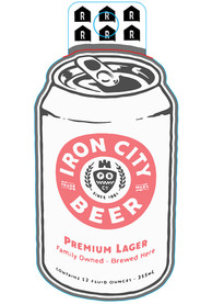 Pittsburgh Brewing Co Iron City Beer Stickers