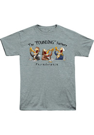 Philly Light Blue Pounding Fathers Short Sleeve T Shirt