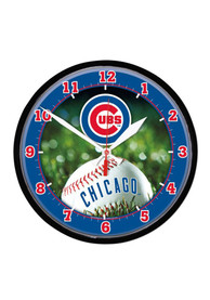 Chicago Cubs 12.75in Round Wall Clock