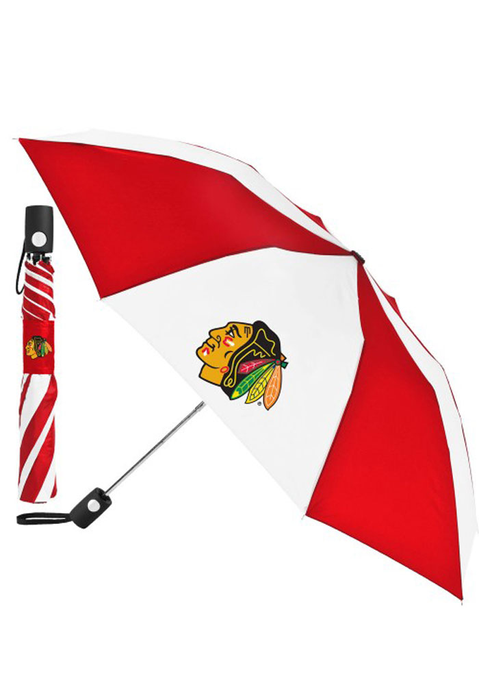 Chicago Blackhawks Auto Fold Umbrella - Image 1