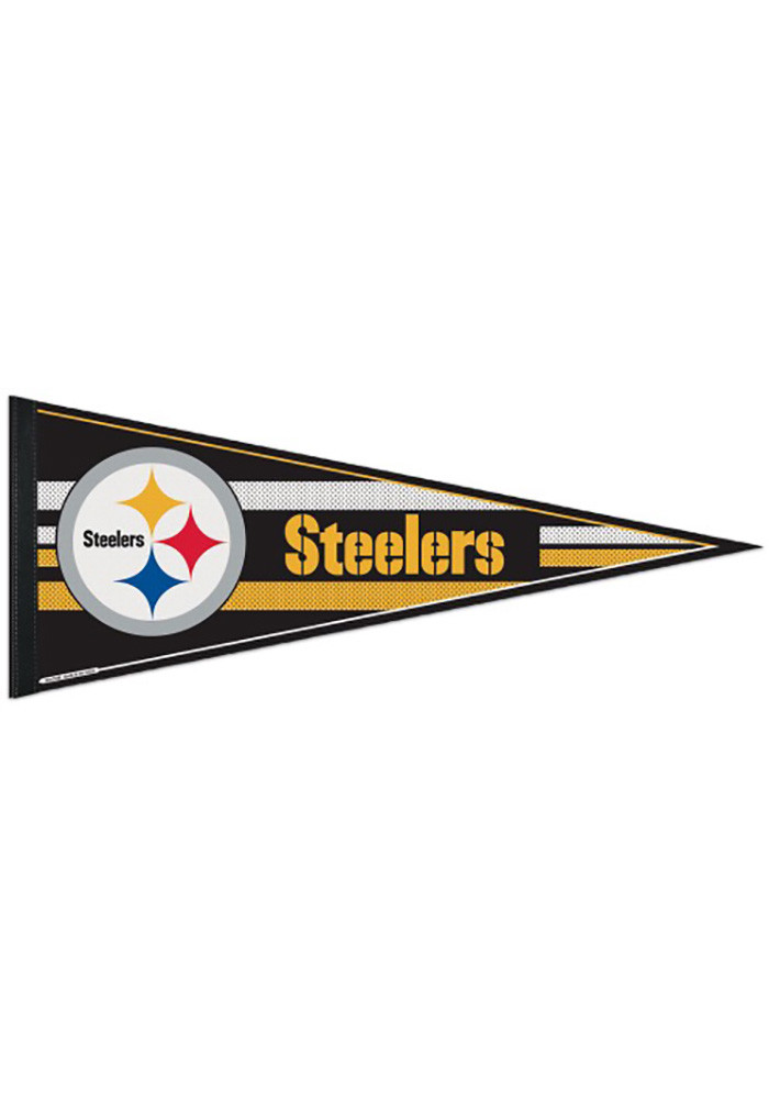 Pittsburgh Steelers 12x30 Classic Pennant - Image 1