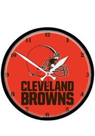 Cleveland Browns 12.75in Round Wall Clock