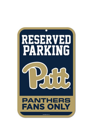 Pitt Panthers Property Of... Sign
