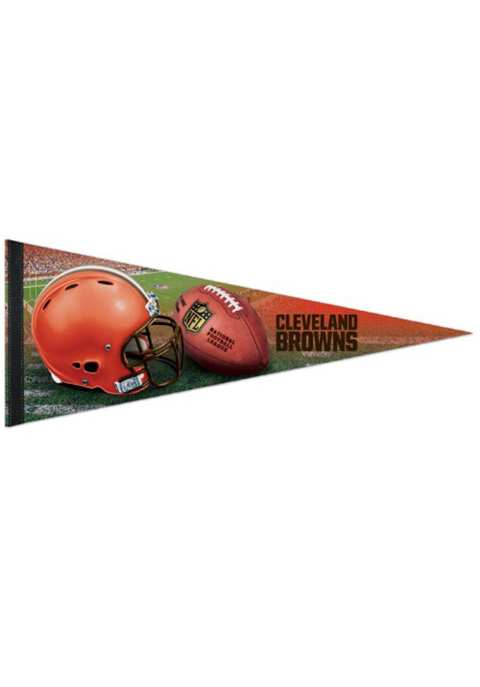 Cleveland Browns 12x30 Field Premium Pennant - Image 1