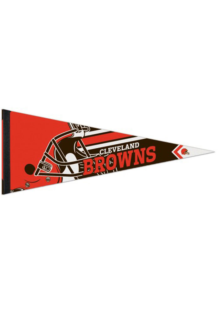 Cleveland Browns 12x30 Logo Premium Pennant - Image 1