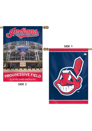 Cleveland Indians 28x40 2-Sided Banner