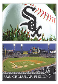 Chicago White Sox 2 Pack Field Magnet