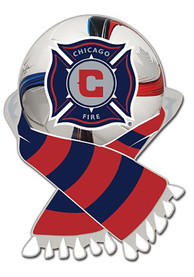 Chicago Fire Scarf Collector Pin