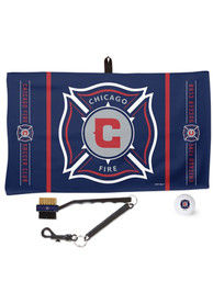 Chicago Fire Waffle Golf Towel