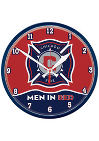 Chicago Fire 12.75in Round Wall Clock