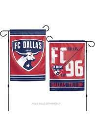 FC Dallas 12x18 2-Sided Garden Flag