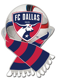 FC Dallas Scarf Collector Pin