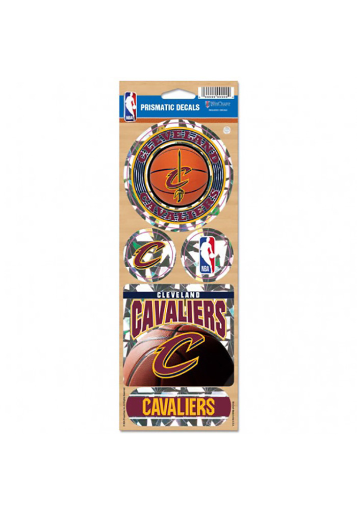 Cleveland Cavaliers 4x11 Prismatic Stickers - Image 1