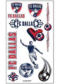 FC Dallas Sheet of Tattoo