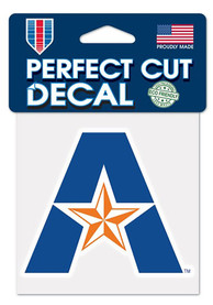 UTA Mavericks Perfect Cut Auto Decal - Orange