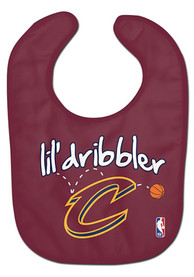 Cleveland Cavaliers Baby Lil Dribbler Bib - Red