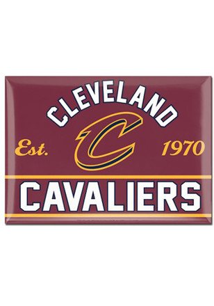 Cleveland Cavaliers 2.5x3.5 Magnet