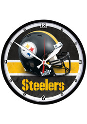 Pittsburgh Steelers Round Wall Clock