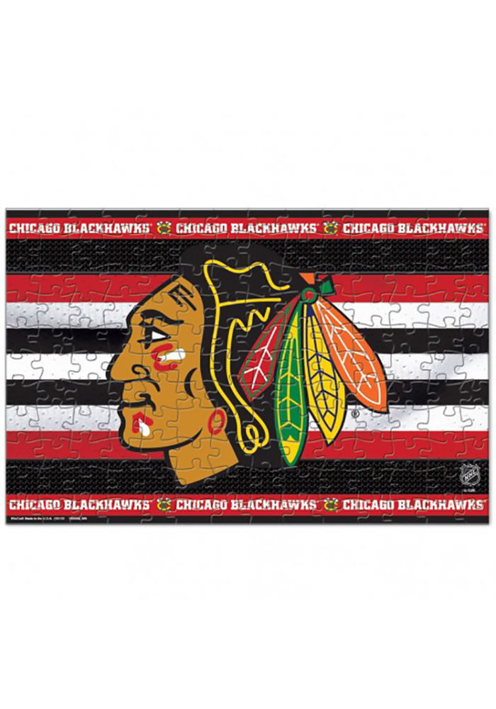 Chicago Blackhawks 150 Piece Puzzle - Image 1