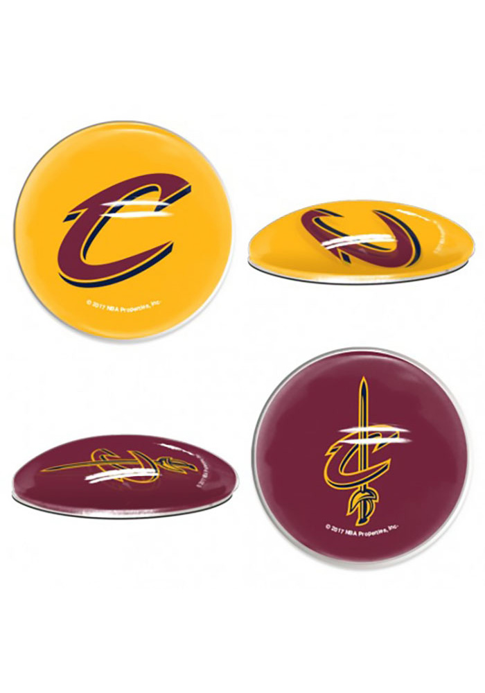 Cleveland Cavaliers Sports Dotts 2 Pack Magnet - Image 1