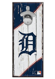 Detroit Tigers 5x11 inch Bottle Opener Sign