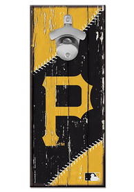 Pittsburgh Pirates 5x11 inch Bottle Opener Sign