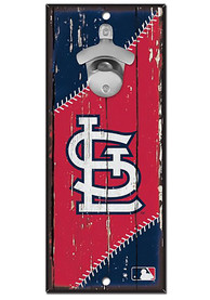 St Louis Cardinals 5x11 inch Bottle Opener Sign