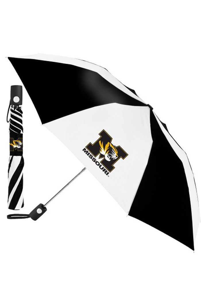 Missouri Tigers Auto Fold Umbrella - Image 1