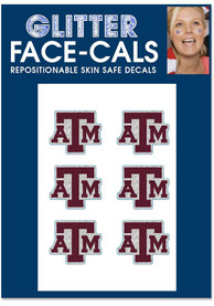 Texas A&M Aggies 6pk Glitter Tattoo
