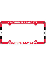 Cincinnati Bearcats Full Color Plastic License Frame
