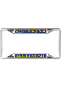 West Virginia Mountaineers Team Color Alumni License Frame