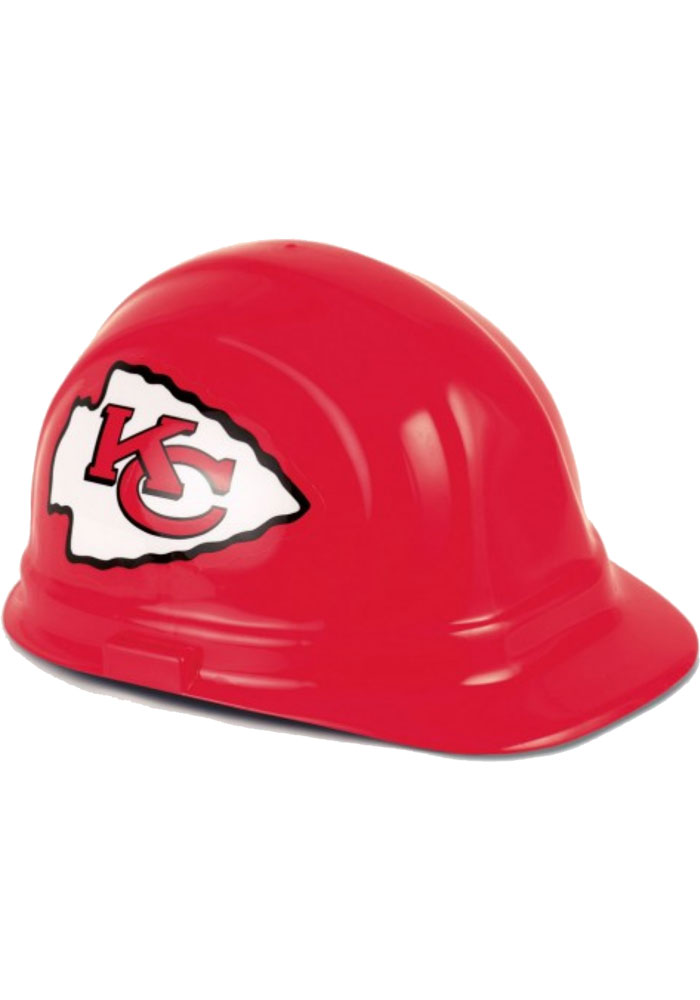 Kansas City Chiefs Replica Helmet Hard Hat - Red - Image 1