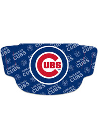 Chicago Cubs Repeat Logo Fan Mask - Blue