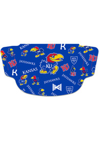 Kansas Jayhawks Evolution Fan Mask - Blue