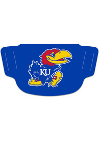 Kansas Jayhawks Team Logo Fan Mask - Blue