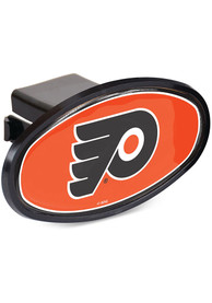 Philadelphia Flyers Plastic Oval Car Accessory Hitch Cover