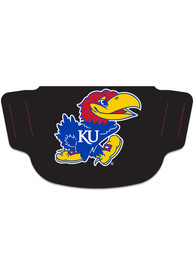 Kansas Jayhawks Team Logo Fan Mask - Black