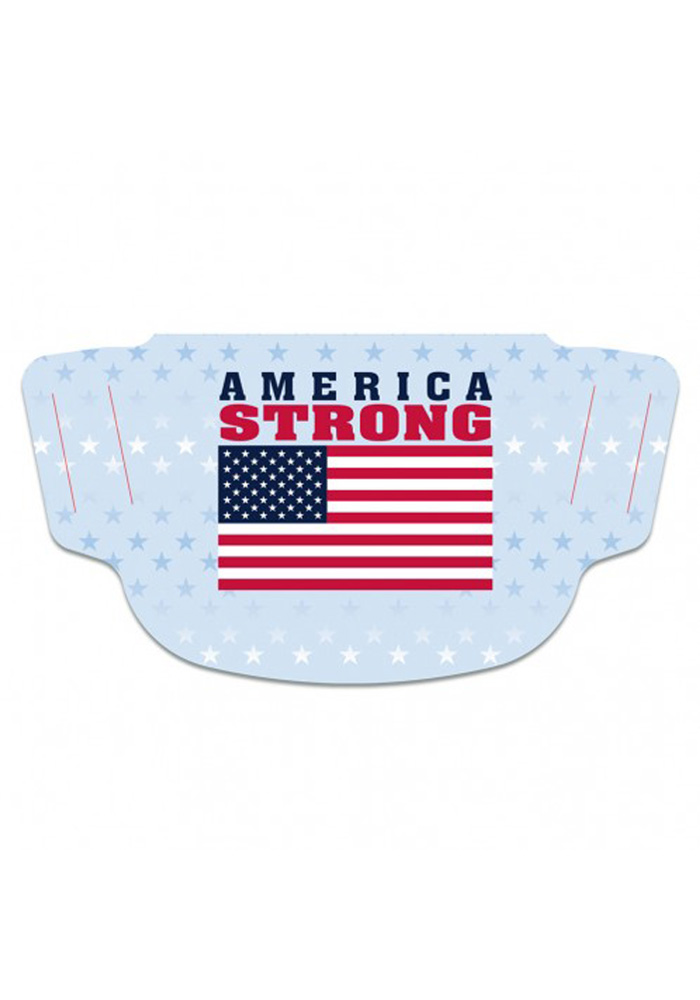 Team USA America Strong Fan Mask - White