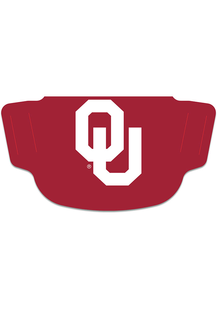 Oklahoma Sooners Team Logo Fan Mask - Image 1