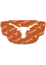 Texas Longhorns Repeat Logo Fan Mask - Burnt Orange