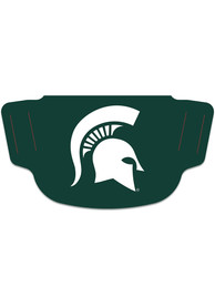 Michigan State Spartans Team Logo Fan Mask - Green