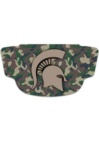 Michigan State Spartans Camo Fan Mask - Brown