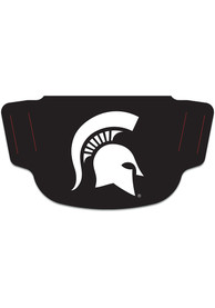 Michigan State Spartans Team Logo Fan Mask - Black