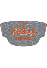 Texas Longhorns Heathered Fan Mask - Grey