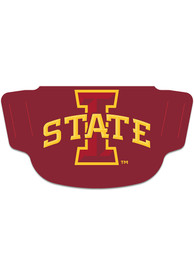 Iowa State Cyclones Team Logo Fan Mask - Red