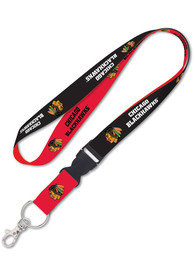 Chicago Blackhawks Team Color Detachable Lanyard