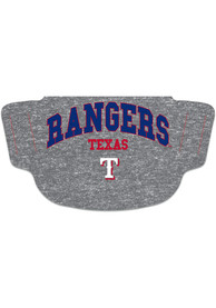 Texas Rangers Heathered Grey Fan Mask - Grey