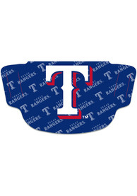 Texas Rangers Repeat Logo Fan Mask - Red