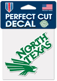 North Texas Mean Green 4x4 Color Auto Decal - Green